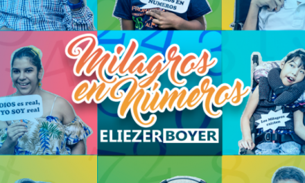 "Eliezer Boyer llega para presentar ""Milagros en Números"""