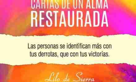 """Lilo de Sierra presenta su libro """"Cartas de un Alma Restaurada"""""""