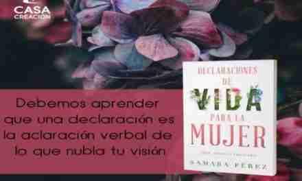 Samara lanza su primer libro «Declaraciones de vida para la Mujer»