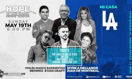 """""""Mi Casa LA 2019"""" con Evan Craft, Redimi2, Marco Barrientos y muchos más"""