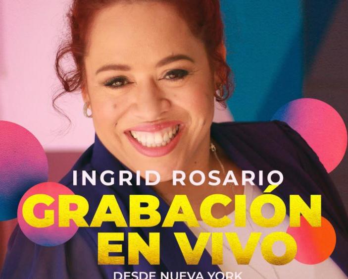 """Ingrid Rosario celebra 20 años desde su primer disco """"Canta Al Señor"""""""