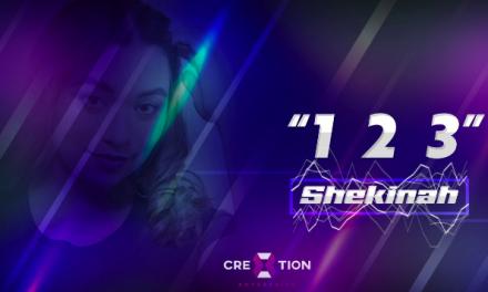 "Shekinah Pérez lanza su primer sencillo ""1-2-3"""
