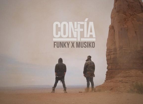 Funky presenta «Confía», su nuevo sencillo y video oficial junto a Musiko