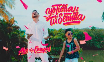 Alex Campos presenta su nuevo sencillo «Yo Tierra, Tu Semilla»