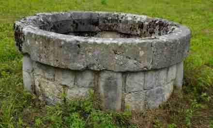 En el fondo de la cisterna