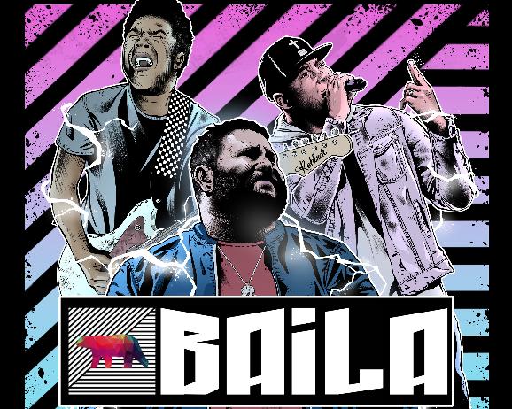 BAILA sencillo musical de Jafet Lora ft. Thalles Roberto y Travy Joe