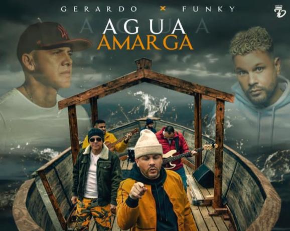 Gerardo regresa a la escena musical junto a Funky, cantando a dúo «Agua Amarga»