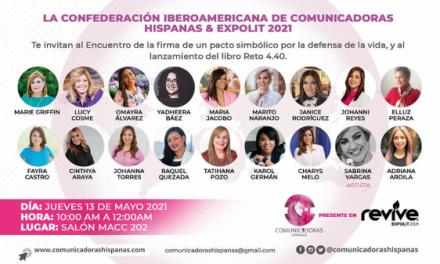 II Encuentro internacional de la Confederación Iberoamericana de Comunicadoras Hispanas en Expolit
